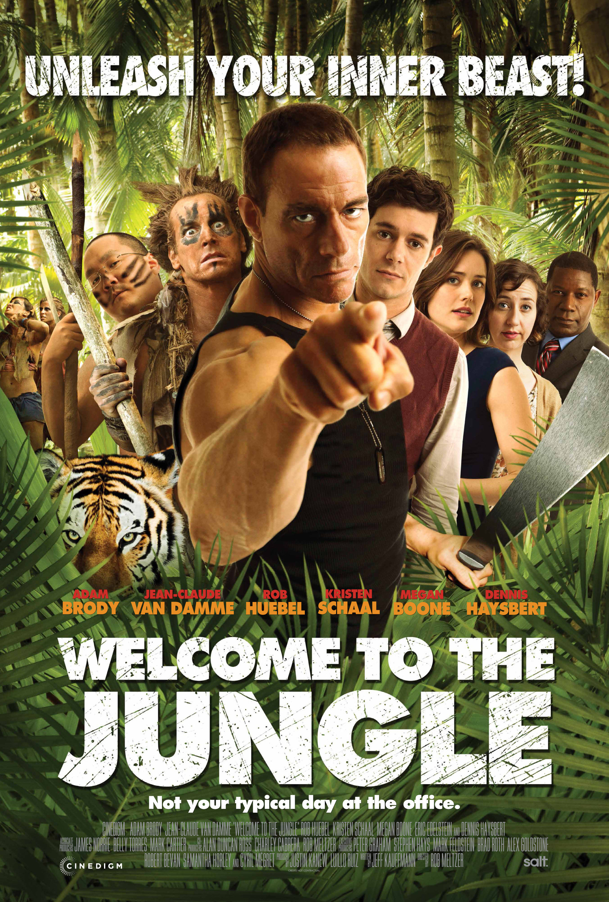 Welcome to the Jungle kapak