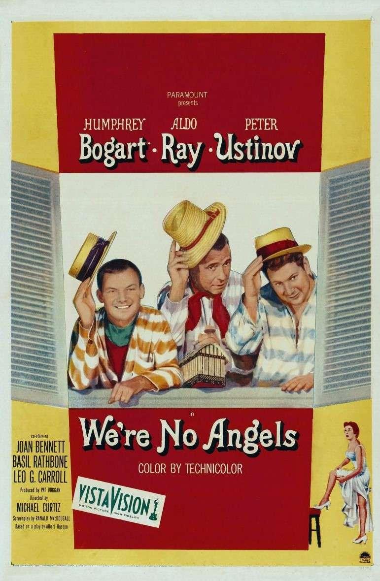 We're No Angels kapak