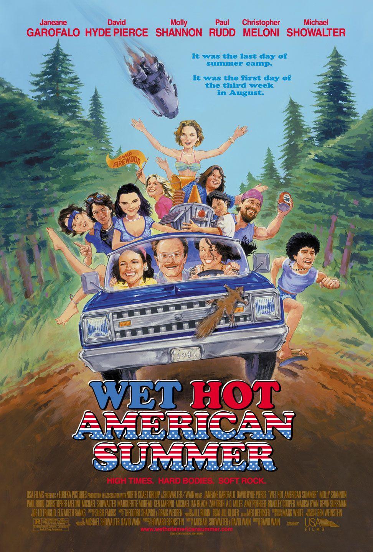 Wet Hot American Summer kapak