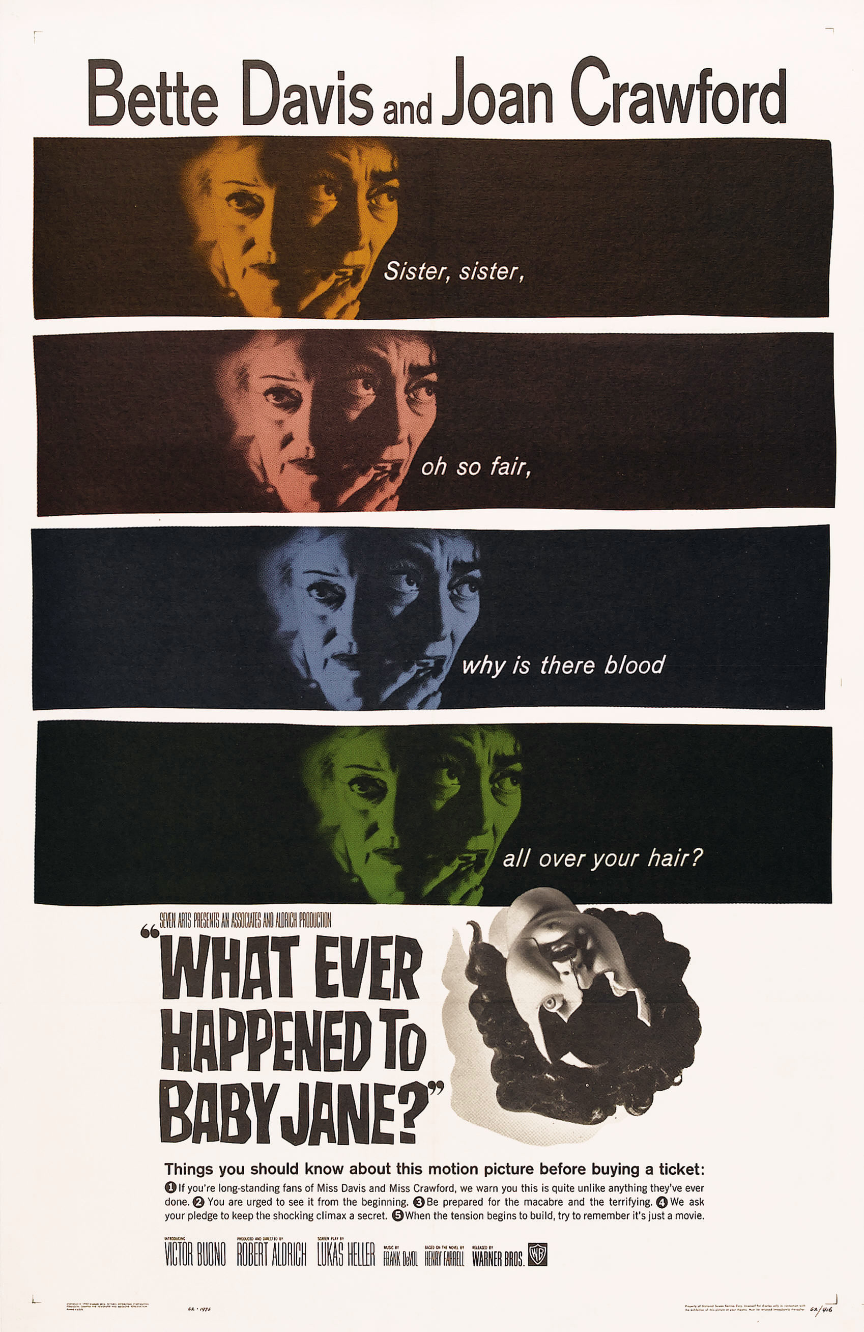 What Ever Happened to Baby Jane? kapak