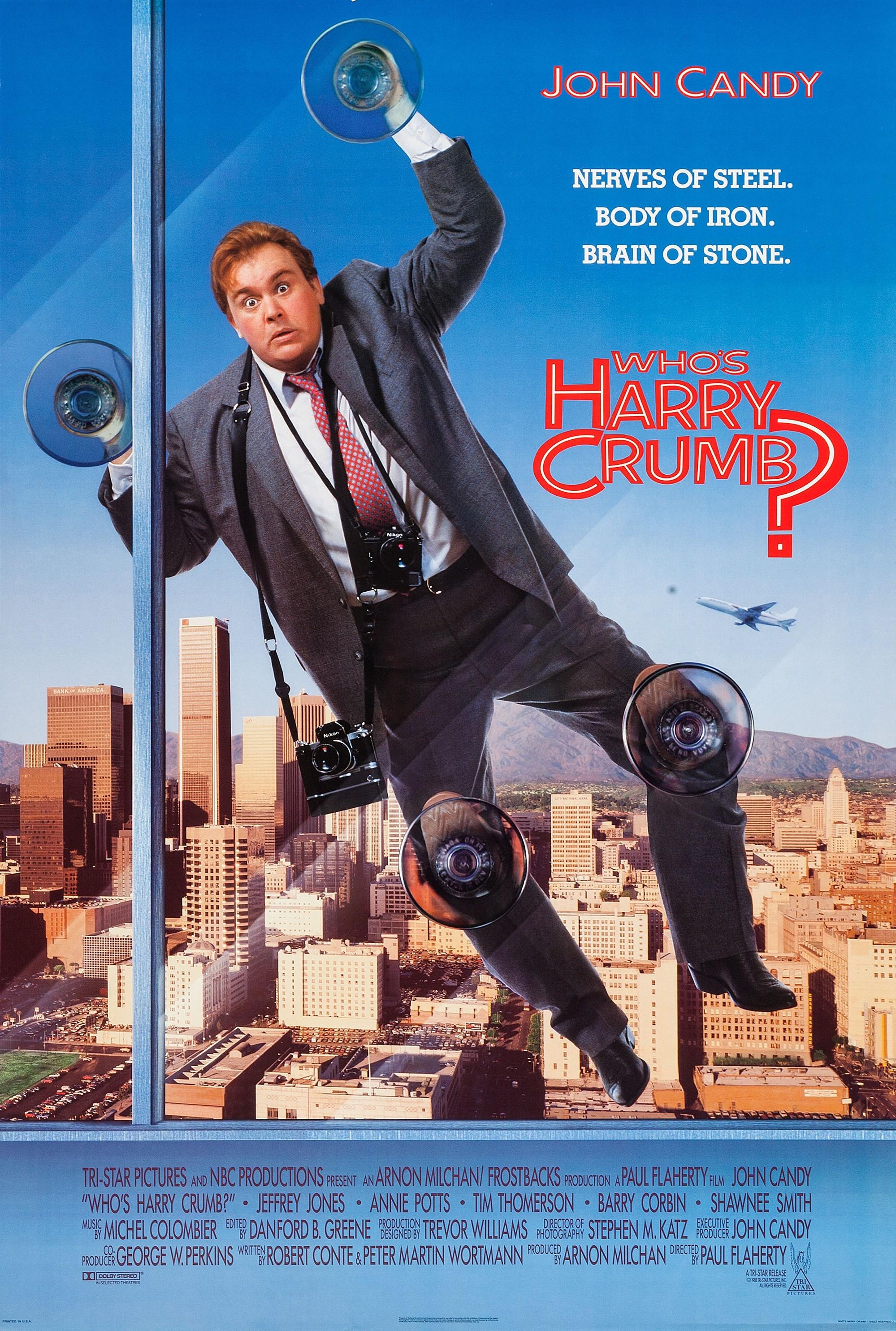 Who's Harry Crumb? kapak
