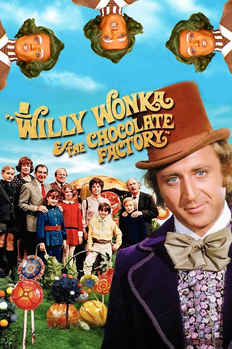 Willy Wonka & the Chocolate Factory kapak