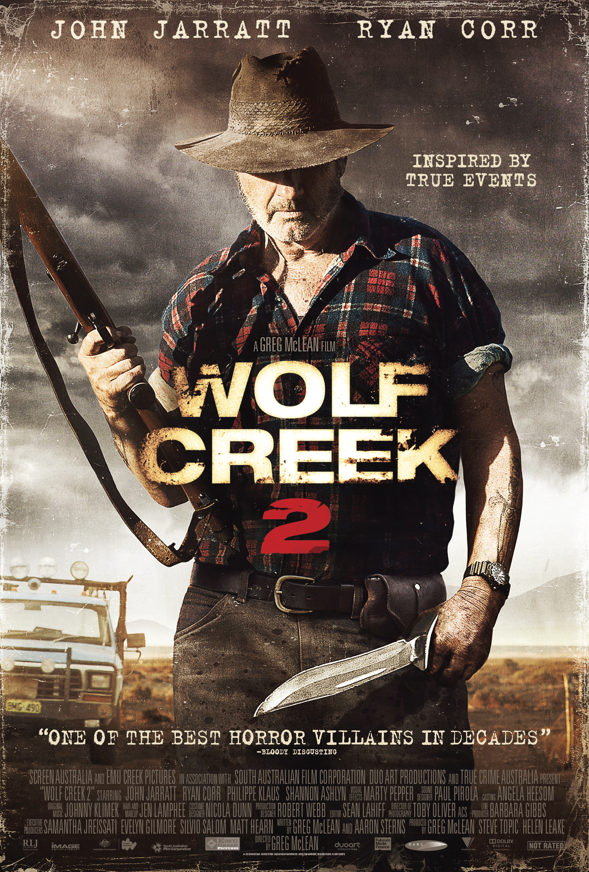 Wolf Creek 2 kapak