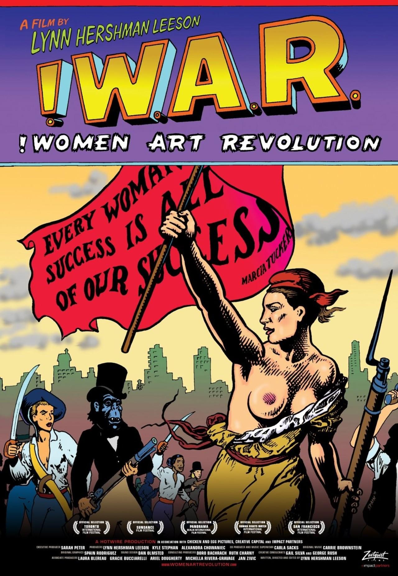 Women Art Revolution kapak