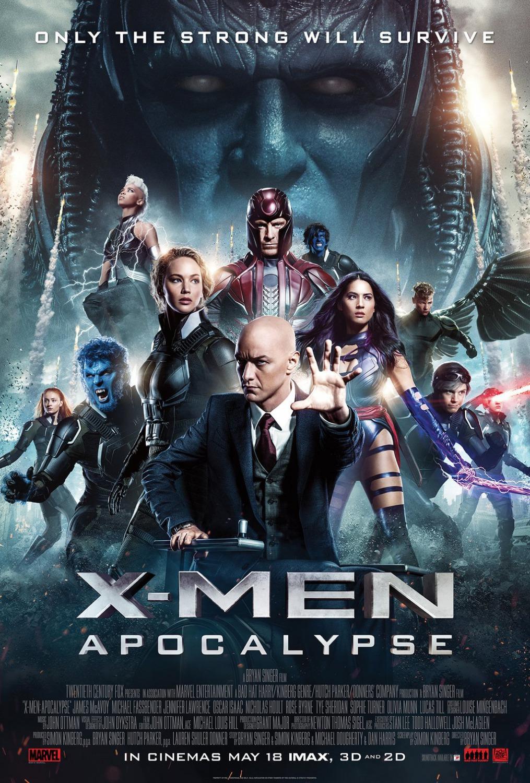 X-Men: Apocalypse kapak