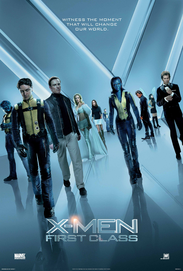 X-Men: First Class kapak