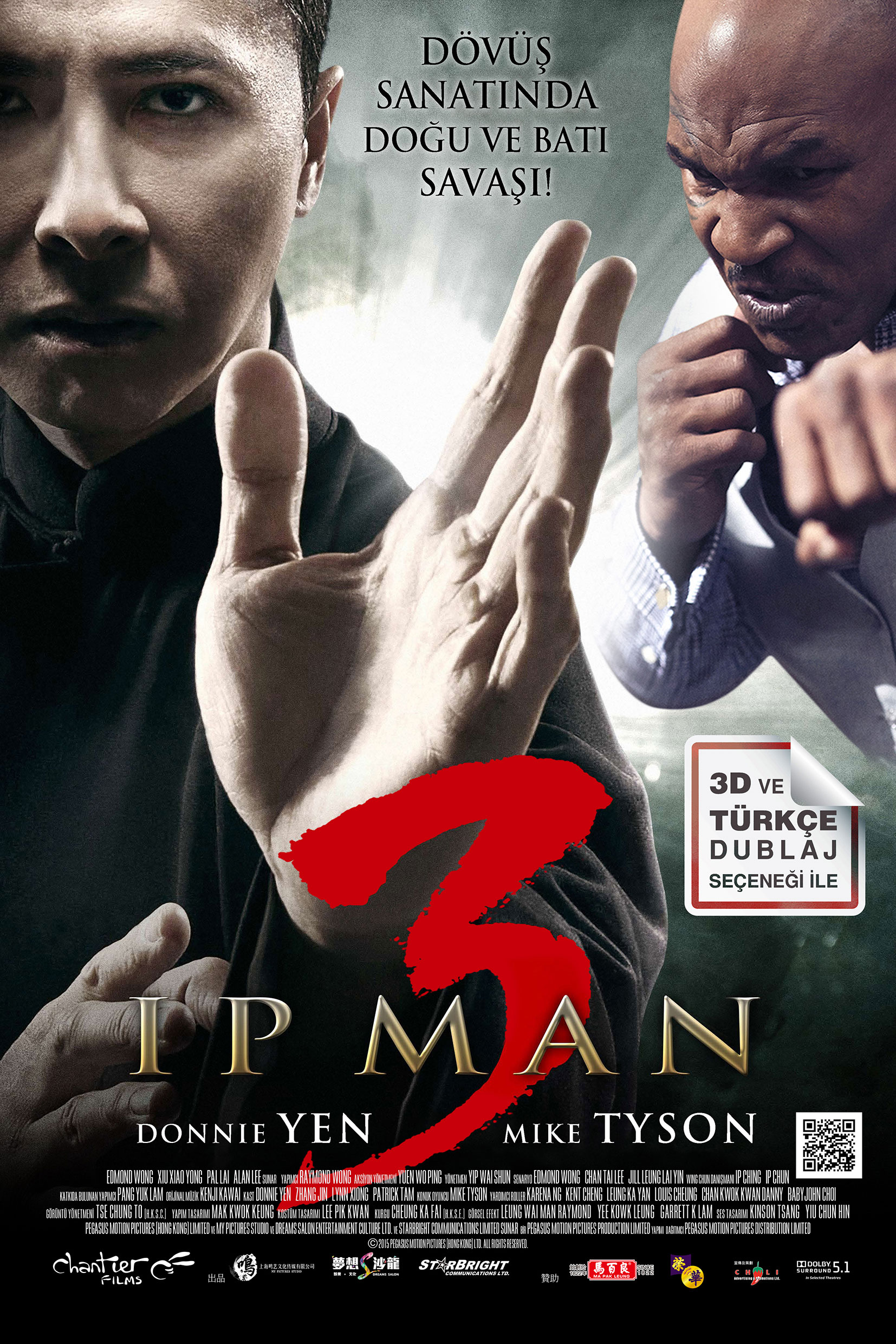 Ip Man 3 kapak
