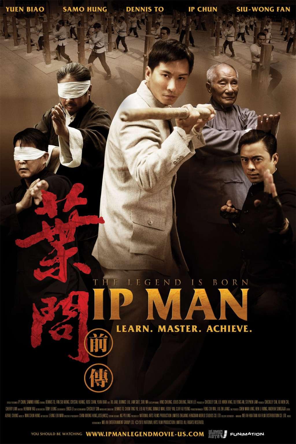 The Legend Is Born: Ip Man kapak