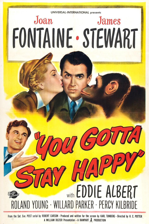 You Gotta Stay Happy kapak