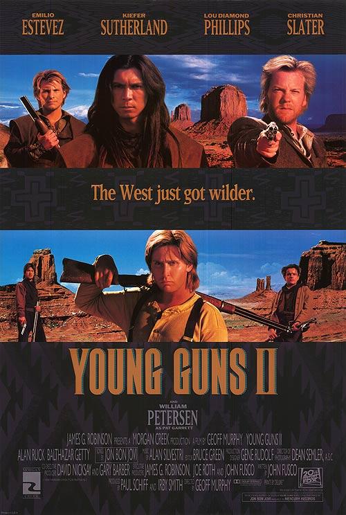 Young Guns II kapak