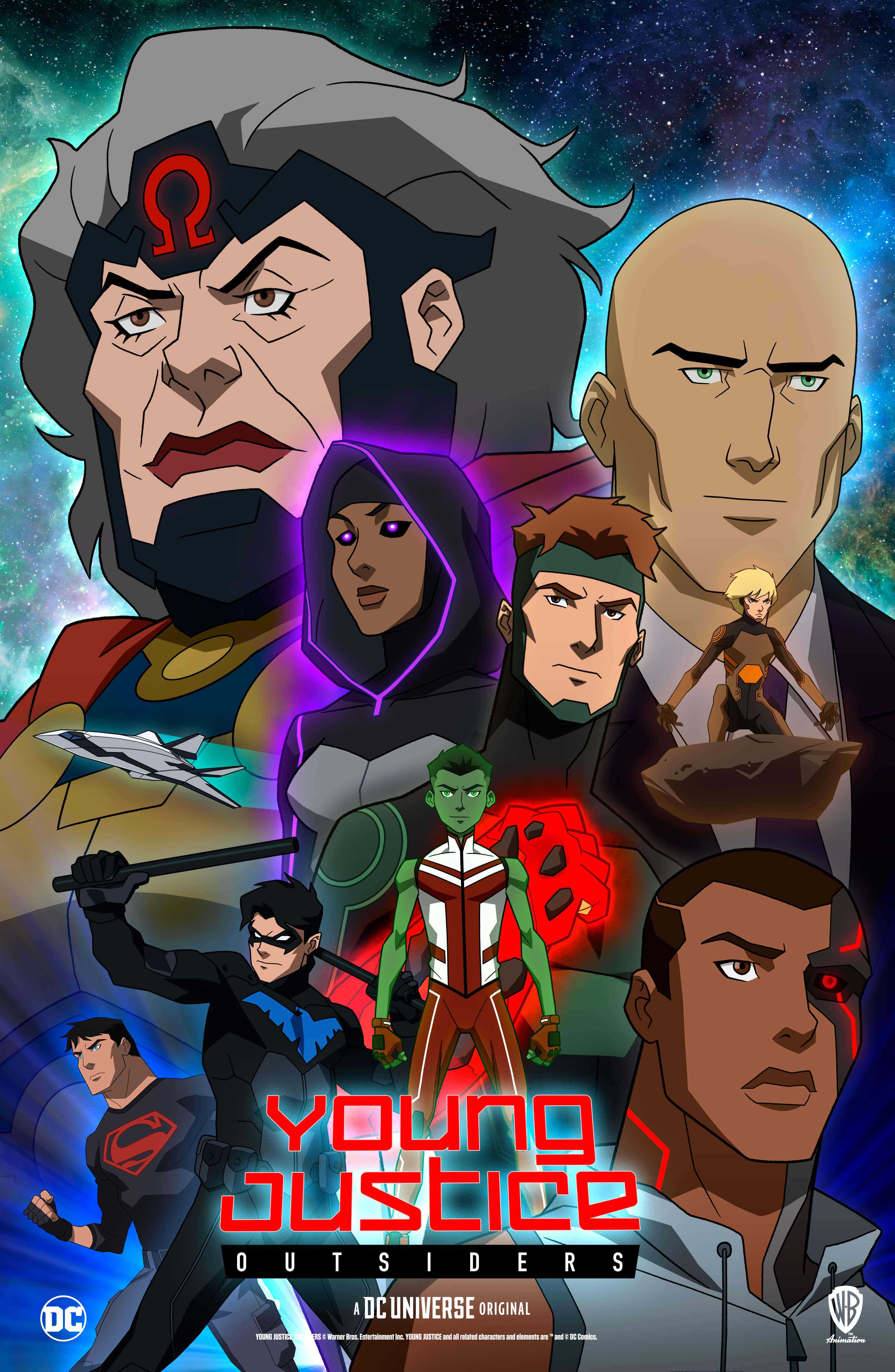 Young Justice kapak