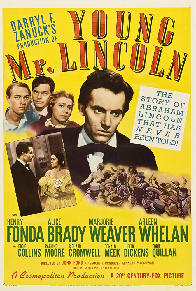 Young Mr. Lincoln kapak