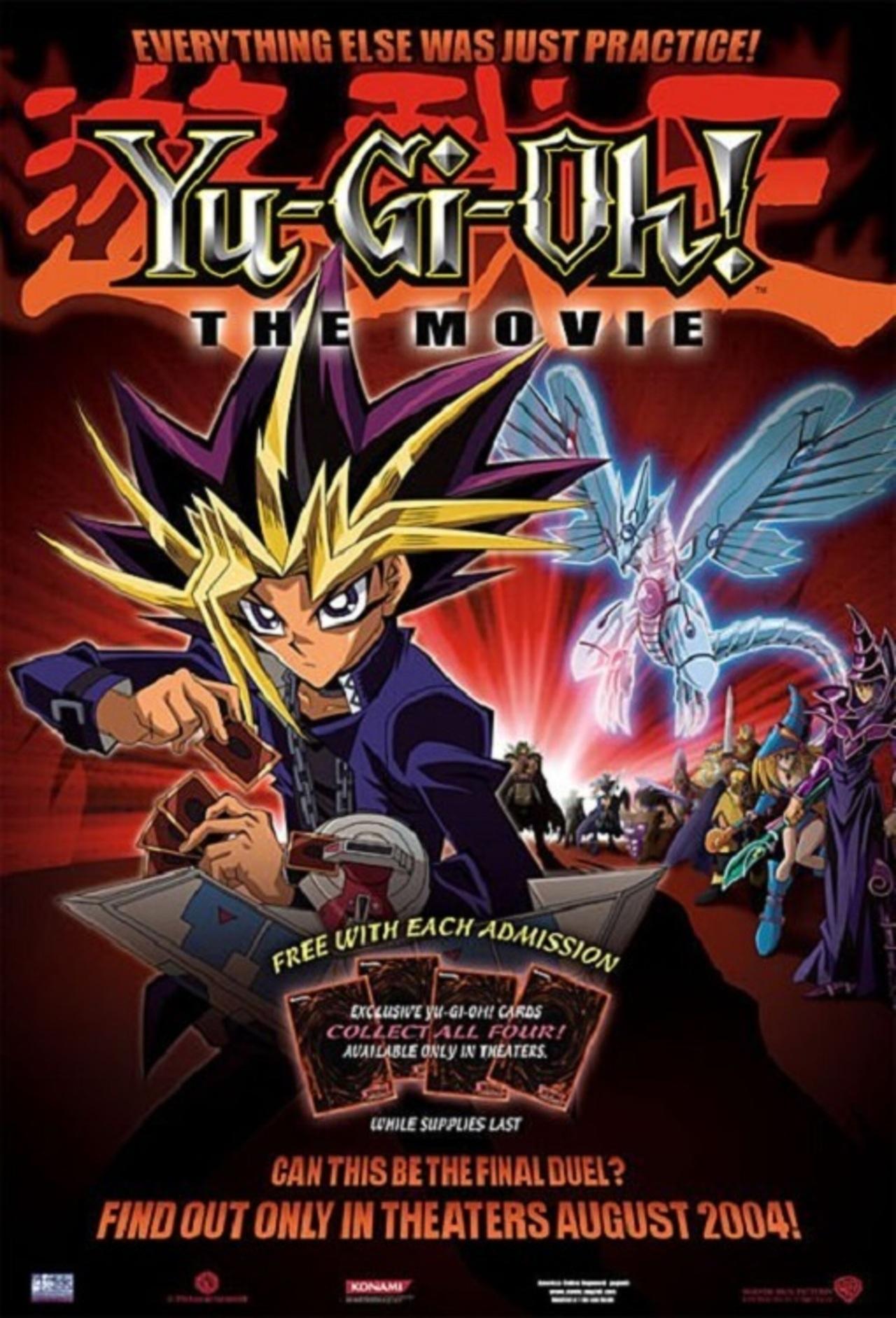 Yu-Gi-Oh!: The Movie - Pyramid of Light kapak