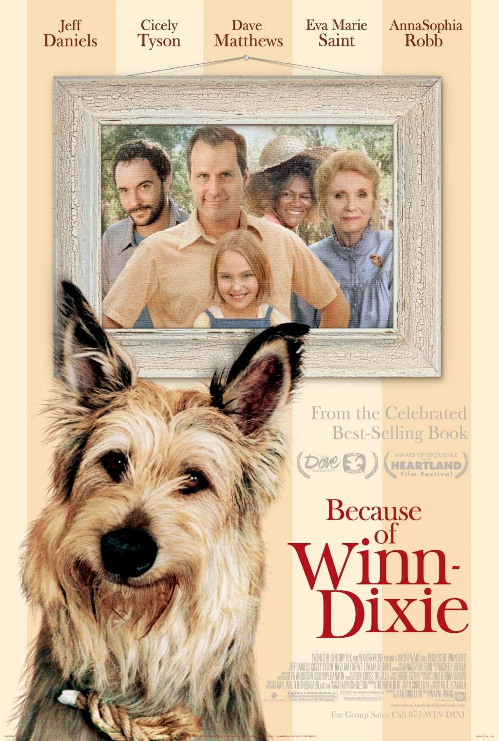 Because of Winn-Dixie kapak