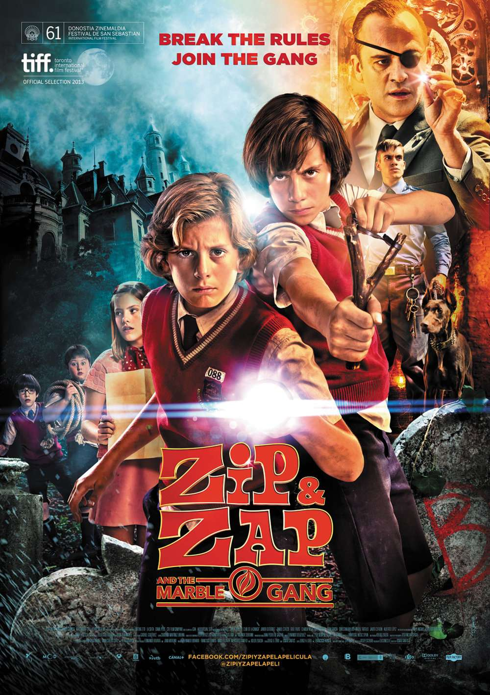 Zip & Zap and the Marble Gang kapak