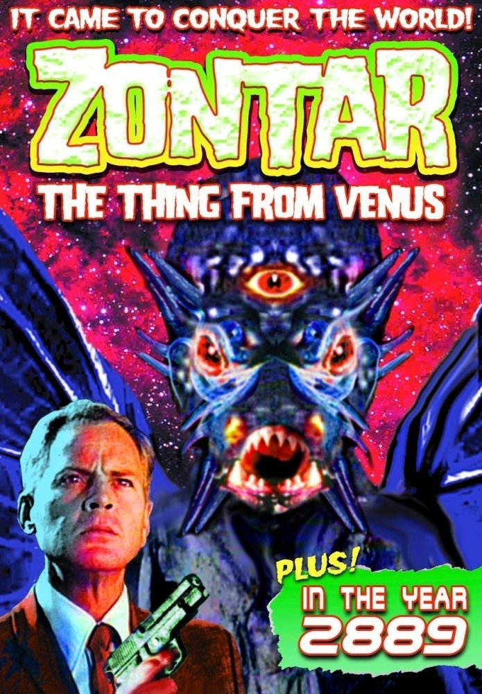 Zontar: The Thing from Venus kapak
