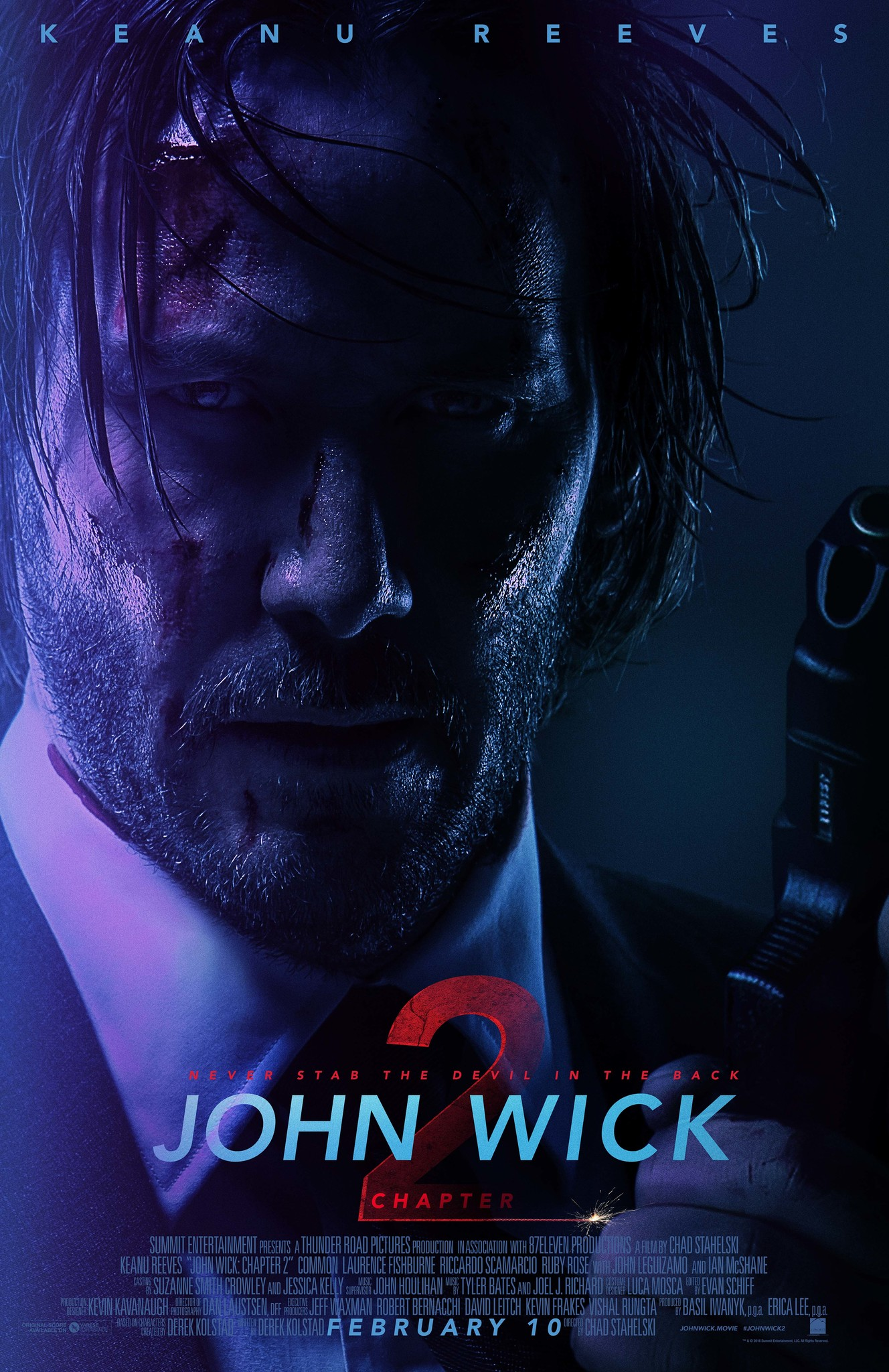 John Wick: Chapter 2 kapak