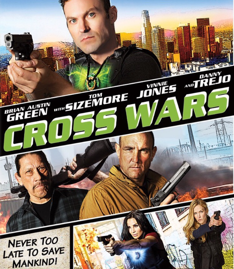 Cross Wars kapak