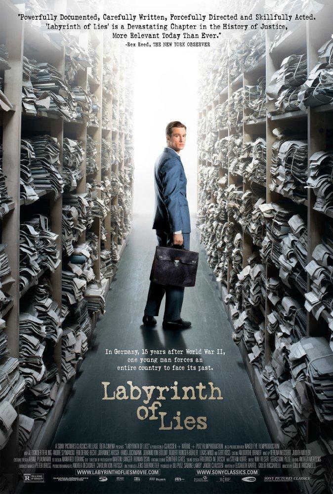 Labyrinth of Lies kapak