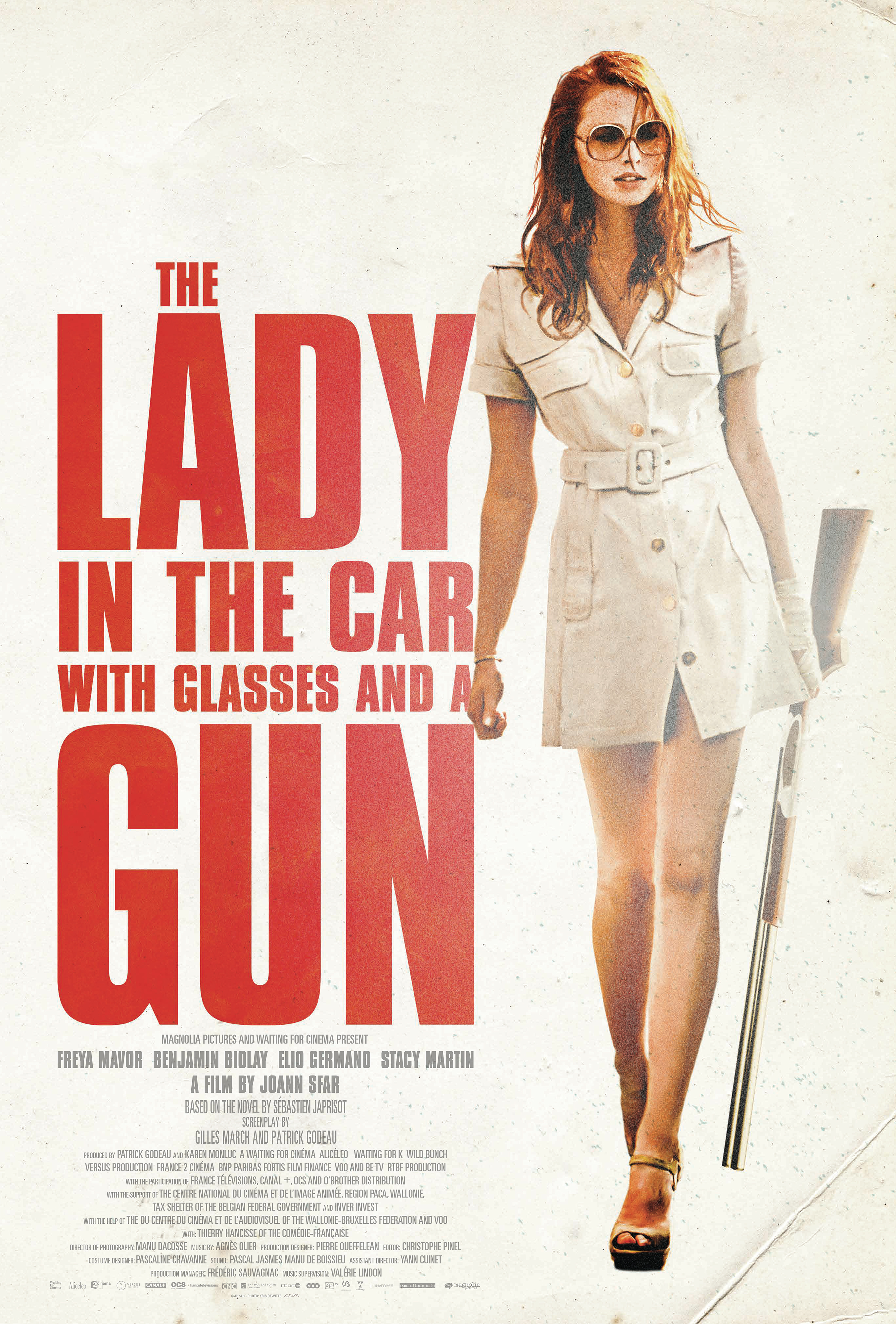 The Lady in the Car with Glasses and a Gun kapak