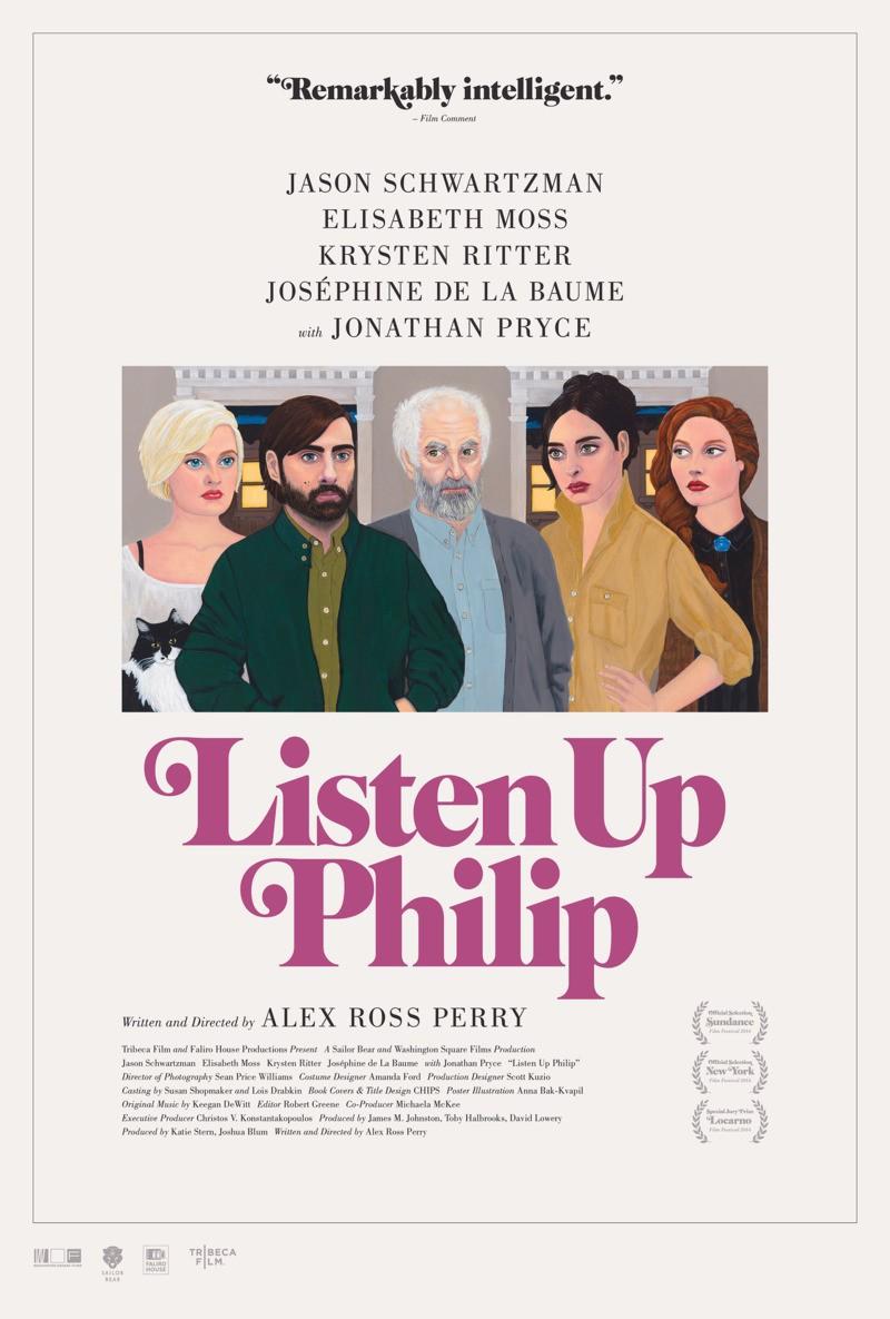 Listen Up Philip kapak