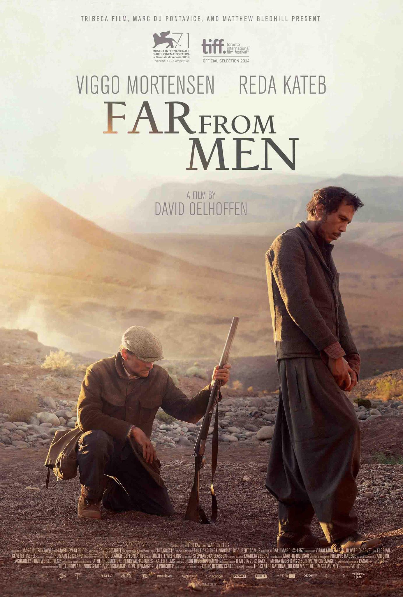 Far from Men kapak