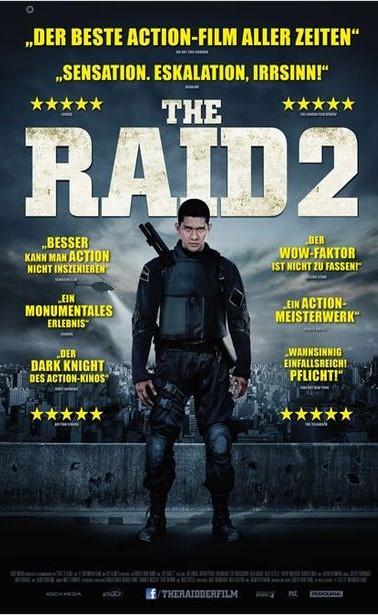 The Raid 2: Berandal kapak