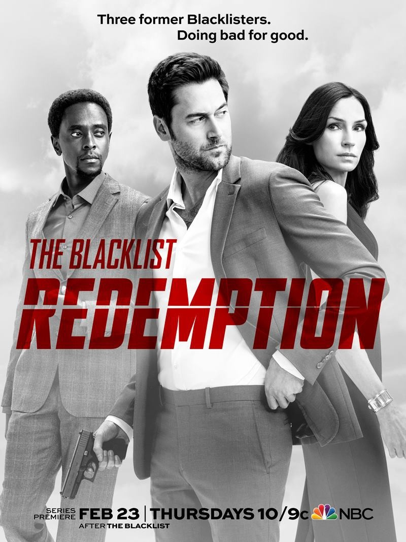 The Blacklist: Redemption kapak
