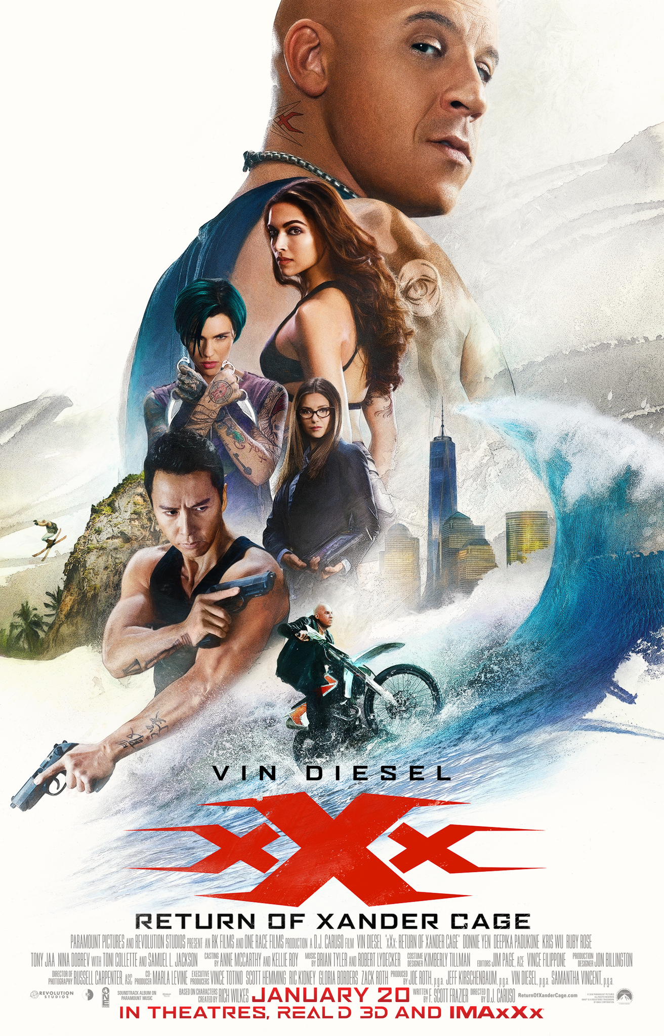 xXx: Return of Xander Cage kapak