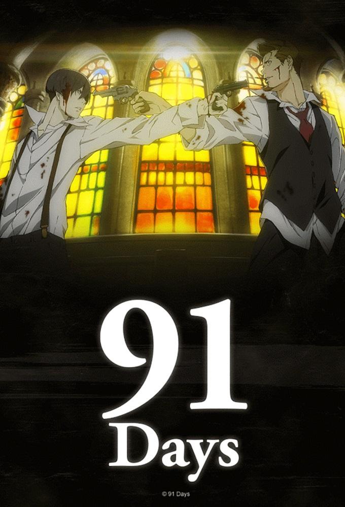 91 Days kapak