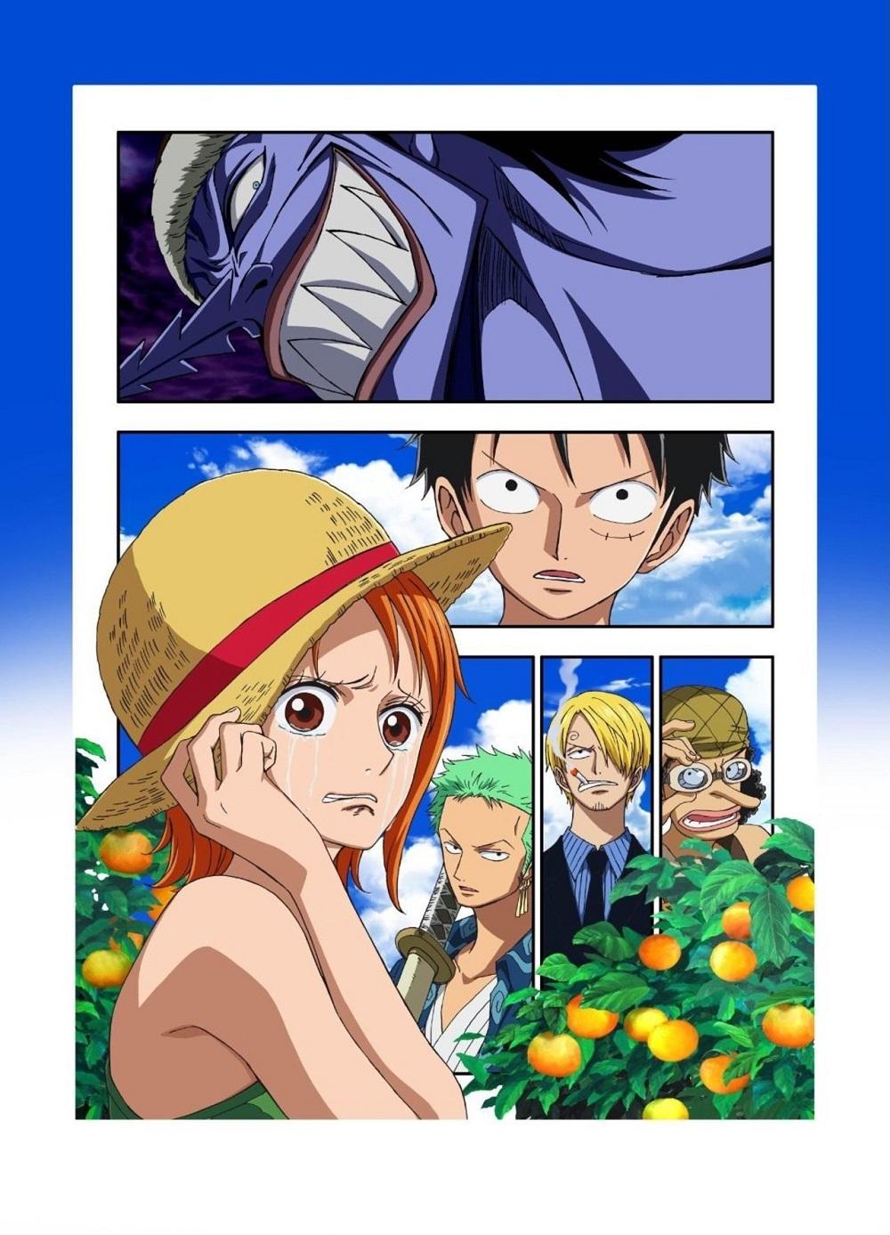 One Piece: Episode of Nami - Koukaishi no Namida to Nakama no Kizuna kapak