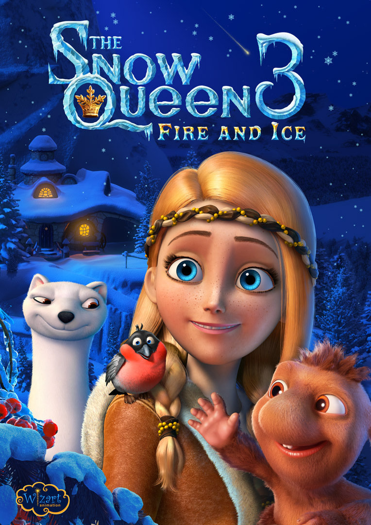 The Snow Queen 3: Fire and Ice kapak