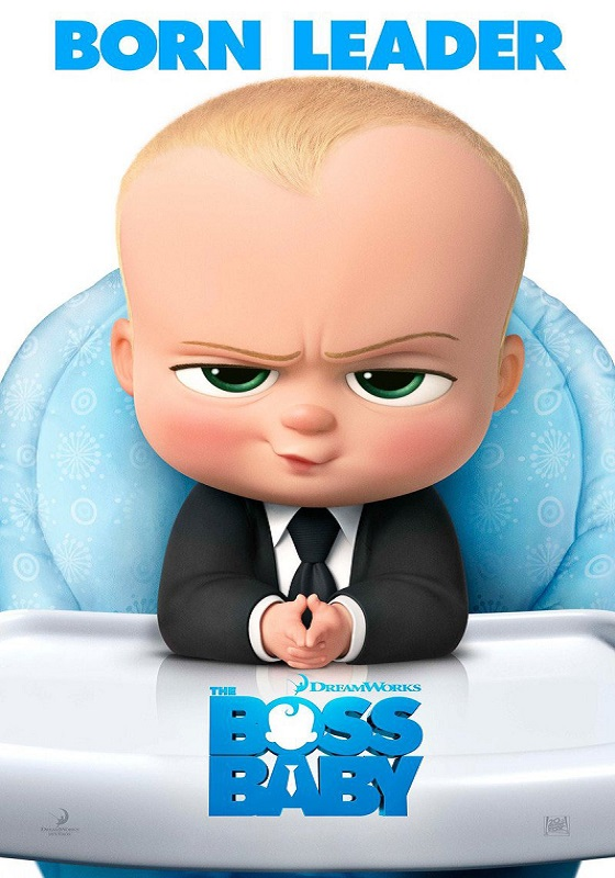 The Boss Baby kapak