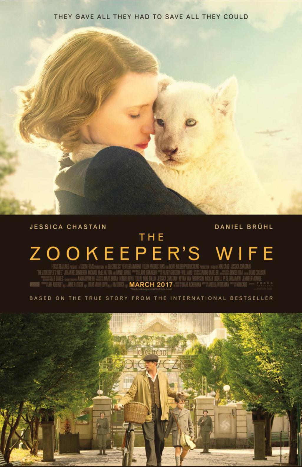 The Zookeeper's Wife kapak