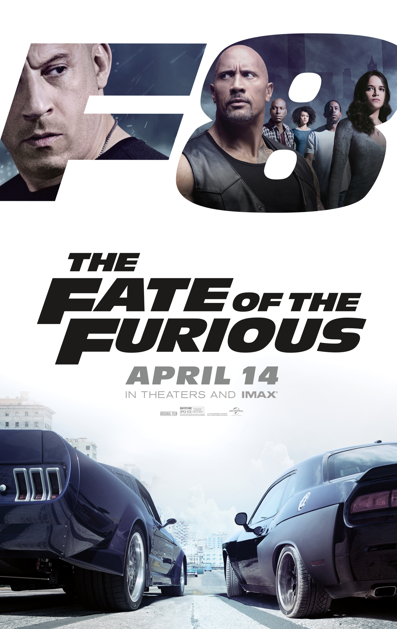 The Fate of the Furious kapak