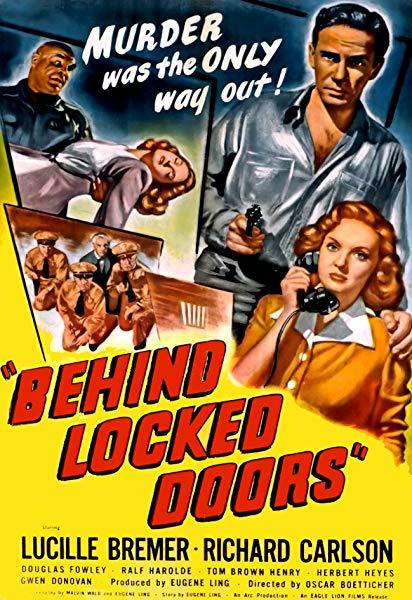 Behind Locked Doors kapak