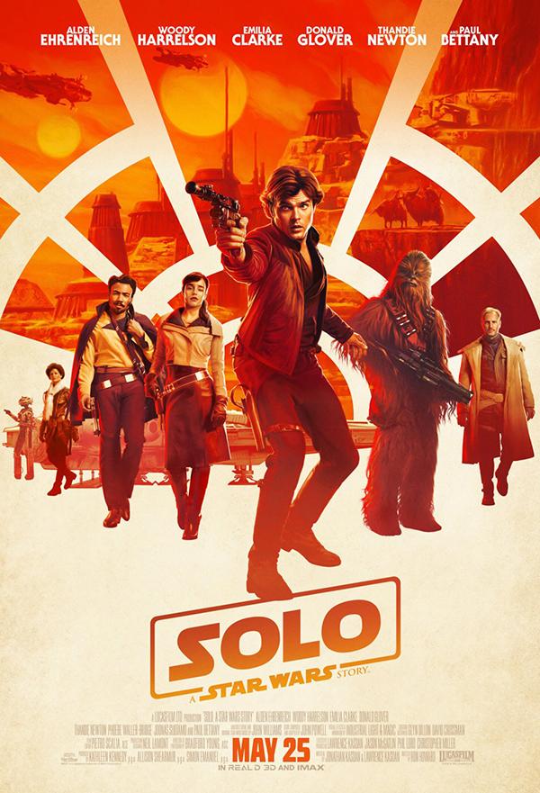 Solo: A Star Wars Story kapak