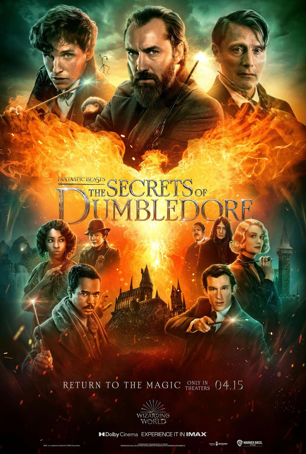 Fantastic Beasts and Where to Find Them 3 kapak