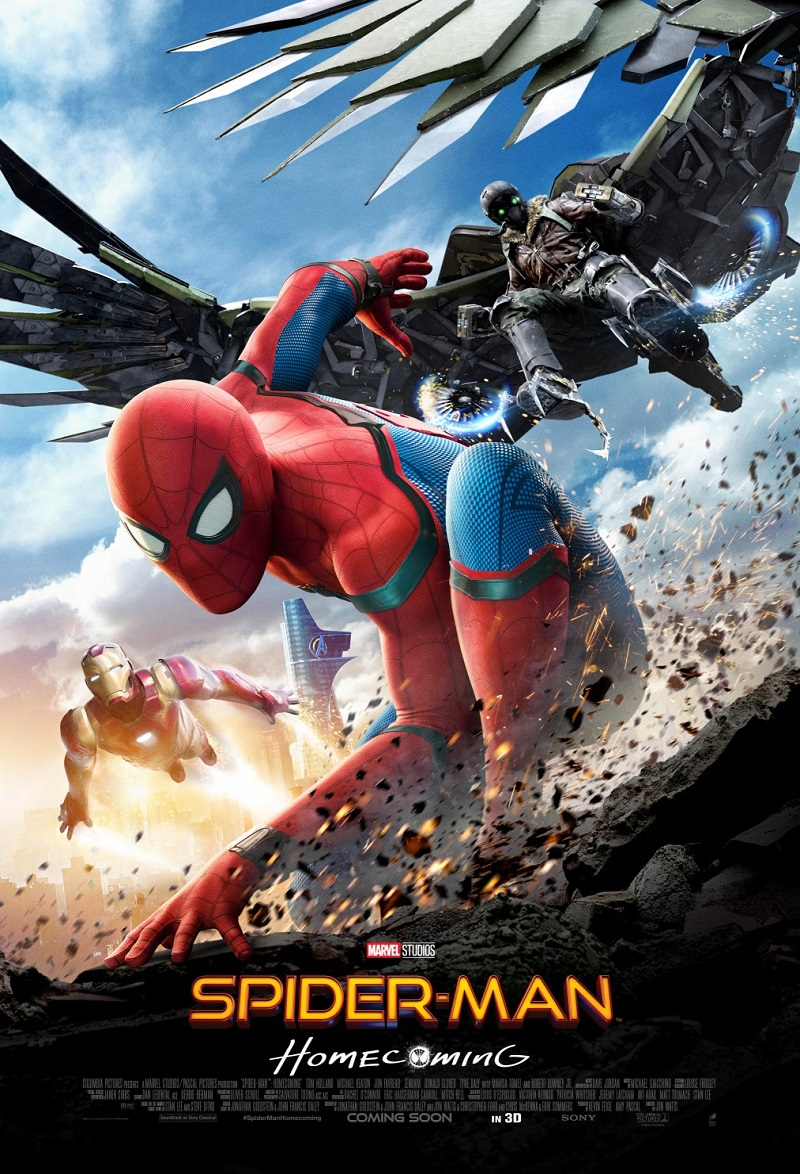 Spider-Man: Homecoming kapak