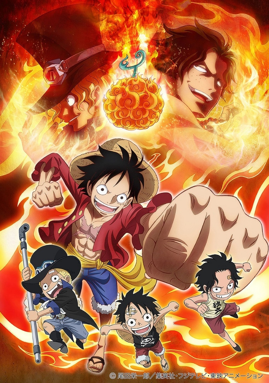 One Piece: Episode of Sabo: Bond of Three Brothers, A Miraculous Reunion and an Inherited Will kapak