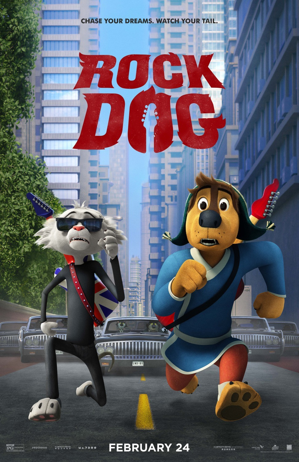 Rock Dog kapak