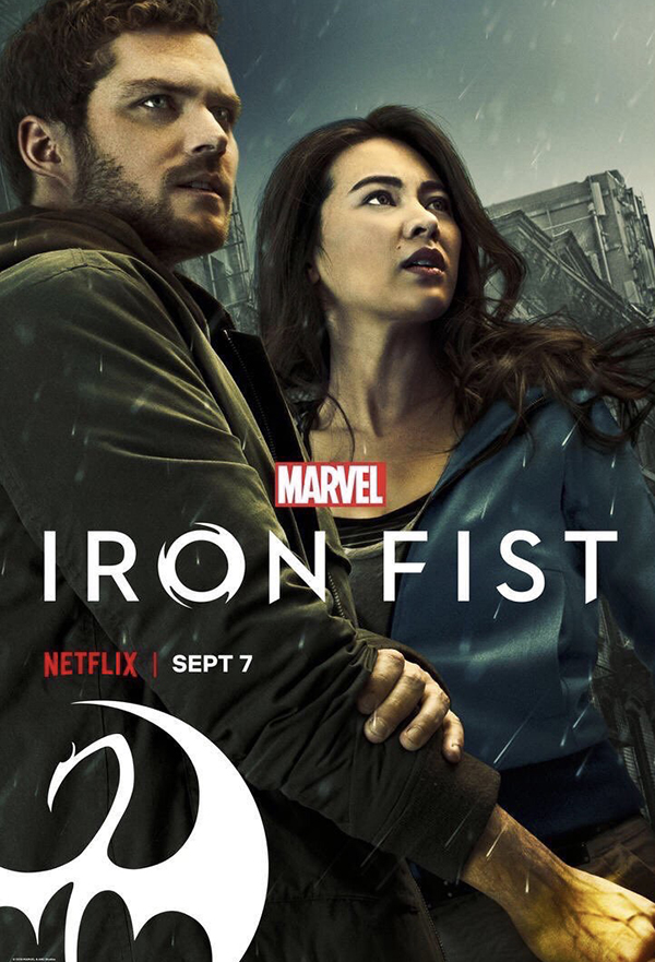 Iron Fist kapak