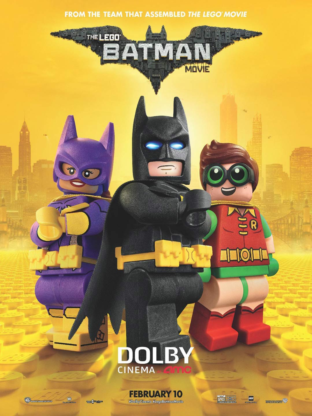 The LEGO Batman Movie kapak