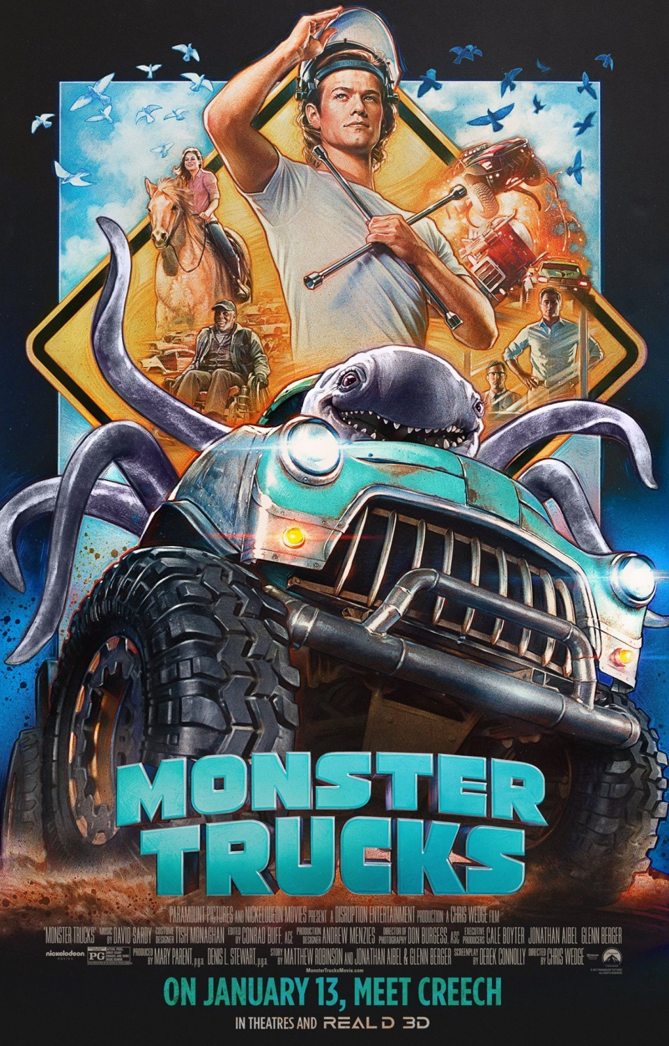 Monster Trucks kapak