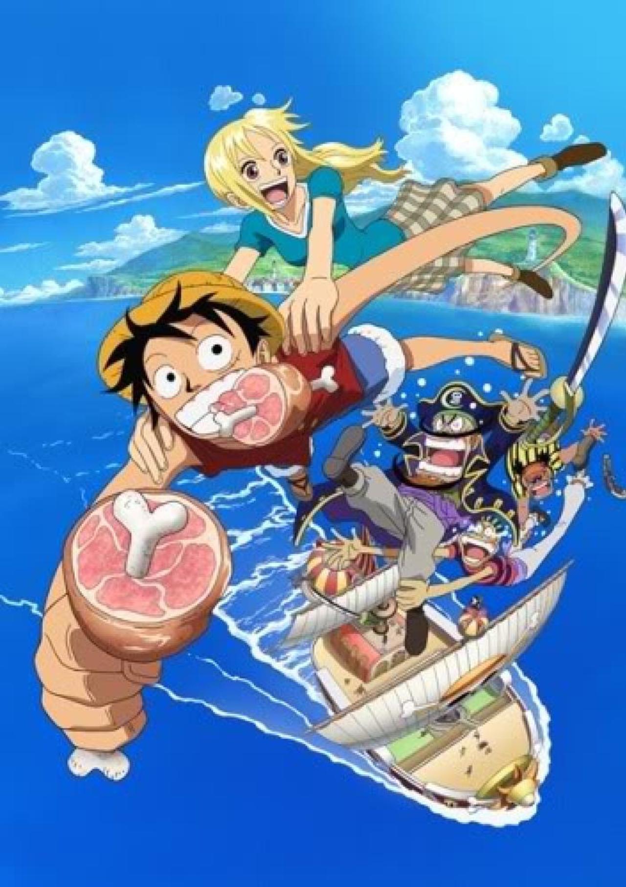 One Piece: Romance Dawn Story kapak