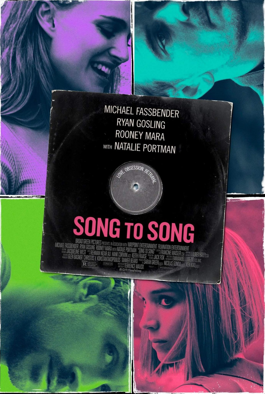 Song to Song kapak
