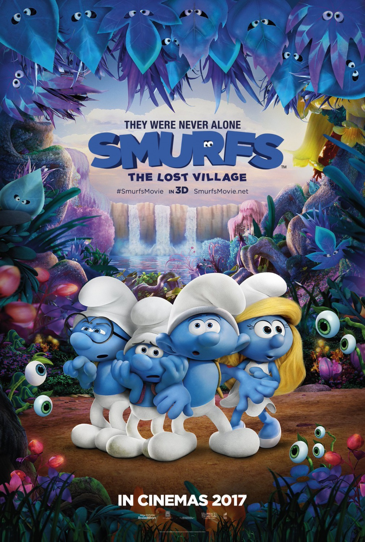 Smurfs: The Lost Village kapak
