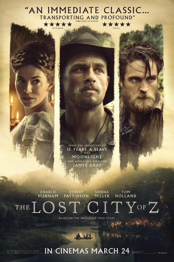 The Lost City of Z kapak