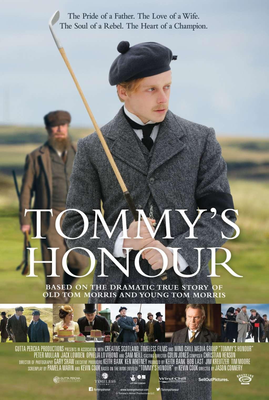 Tommy's Honour kapak
