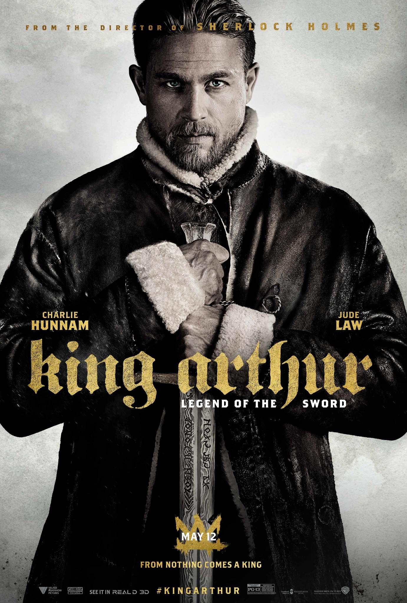 King Arthur: Legend of the Sword kapak
